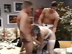 Double Penetration, Old and Young, Threesome, Vintage