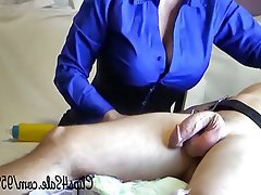 Femdom, Handjob, Old and Young