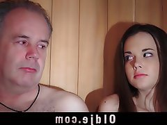 Blowjob, Cumshot, Old and Young, Teen