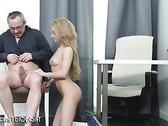 Blonde, Blowjob, Cum in mouth, Hardcore