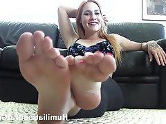 Babe, BDSM, Femdom, Foot Fetish