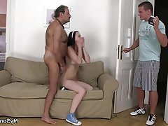 Blowjob, Czech, Hardcore, Old and Young, Teen