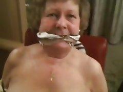 BDSM, Bondage, Granny, Deepthroat