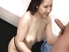 Asian, Blowjob, Handjob, MILF