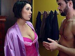 Big Tits, Boobs, Brunette, Wife