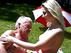 Czech, Blonde, Big Boobs, Old and Young