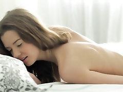 Masturbation, Solo, Stockings, Toys